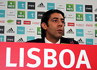 20090630: LISBON, PORTUGAL - Argentine star Javier Saviola presented in SL Benfica. The former Barcelona and Real Madrid striker signed a three year contract. In picture: Rui Costa (Benfica Sport Director). PHOTO: Pedro Evangelista/CITYFILES