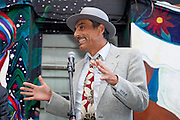 Alejandro Murguía SF's sixth poet laureate at the San Francisco International Poetry Festival...photo by Jason Doiy