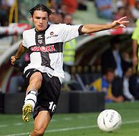 Parma 24/09/2006<br /> Campionato Italiano Serie A 2006/07<br /> Parma-Roma 0-4<br /> Andrea Pisanu Parma<br /> Foto Luca Pagliaricci Inside<br /> www.insidefoto.com