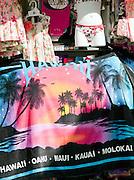 Beachwear and towels for sale, O'Ahu, Hawai'i