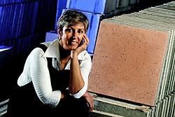 Ana Cristina, empresária, fabrica de pisos e revestimentos. FOTO: Jefferson Bernardes / Preview.com