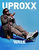 October 14, 2021 - USA: Wale Covers Uproxx Magazine October 2021 Issue