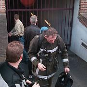 Garage Voorbaan word gesloten door de brandweer vanwege een te hoog monixide gehalte