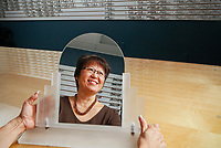 Donna Nakawaki, Vice President and CFO of REM Eyeware September 8, 2010. Photo by David Sprague