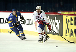 18.04.2016, Dom Sportova, Zagreb, CRO, IIHF WM, Ukraine vs Kroatien, Division I, Gruppe B, im Bild CHERNYSHENKO Dmytro // during the 2016 IIHF Ice Hockey World Championship, Division I, Group B, match between Uraine and Croatia at the Dom Sportova in Zagreb, Croatia on 2016/04/18. EXPA Pictures © 2016, PhotoCredit: EXPA/ Pixsell/ Sanjin Strukic<br /> <br /> *****ATTENTION - for AUT, SLO, SUI, SWE, ITA, FRA only*****