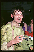 Paul Newman,  Dress Little Big Horn,  Piers Gaveston. Oxford town Hall. 1982 approx. © Copyright Photograph by Dafydd Jones 66 Stockwell Park Rd. London SW9 0DA Tel 020 7733 0108 www.dafjones.com