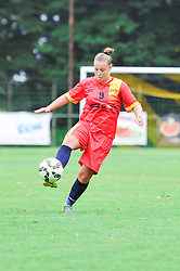 Mihaela Ciolacu of Olimpia Cluj Napoca during the UEFA Women's Champions League Qualifying Match between ZNK Teleing Pomurje (SLO) and Olimpia Cluj (ROU) at Sportni Park on August 16, 2015 in Beltinci, Slovenia. Photo by Mario Horvat / Sportida