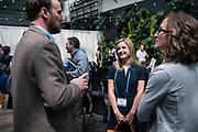 Brenna Davis from Drift & Row at the Wisconsin Entrepreneurship Conference at Venue 42 in Milwaukee, Wisconsin, Wednesday, June 5, 2019.
