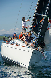 Day 3 Scottish Series, SAILING, Scotland.<br /> <br /> Animal, First 36.7, 3627L, CCC/RNCYC<br /> <br /> The Scottish Series, hosted by the Clyde Cruising Club is an annual series of races for sailing yachts held each spring. Normally held in Loch Fyne the event moved to three Clyde locations due to current restrictions. <br /> <br /> Light winds did not deter the racing taking place at East Patch, Inverkip and off Largs over the bank holiday weekend 28-30 May. <br /> <br /> Image Credit : Marc Turner / CCC