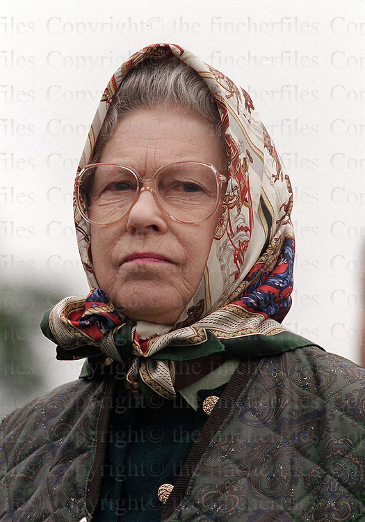 The Queen seen at the Royal Windsor Horse Show in May 1999.Photographed by Jayne Fincher