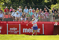 26JUL15  Lisette Salas on 1 during Sunday's Final Round of The Meijer LPGA Classic at The Blythefield Country Club in Belmont, Michigan. (photo credit : kenneth e. dennis/kendennisphoto.com)