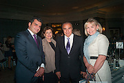 HAIG AVAKIAN; TALINE AVAKIAN; EDMOND AVAKIAN; HEINI AL FAYED, The Foreign Sisters lunch sponsored by Avakian in aid of Cancer Research UK. The Dorchester. 15 May 2012