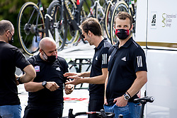 Andrej Hauptman, sport director of UAE TEAM EMIRATES during 3rd Stage of 27th Tour of Slovenia 2021 cycling race between Brezice and Krsko (165,8 km), on June 11, 2021 in Slovenia. Photo by Matic Klansek Velej / Sportida