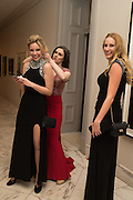 RACHEL CEFALU; ALICIA FLATT; SARAH CEFALU, Great Gatsby(Presidential( Inaugural(Ball, National'Portrait'Gallery'&'Smithsonian'American'Art' Museum,, Inauguration of Donald Trump ,  Washington DC. 20  January 2017