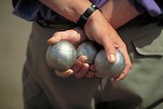 Bocce balls, Provence, France