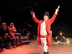 Circus of Comedy <br /> at The Arcola Tent, Dalston, Great Britain <br /> 22nd October 2011 <br /> <br /> Dan March <br /> of The Real MacGuffins<br /> <br /> <br /> Photograph by Elliott Franks
