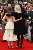 Emilia Clarke, Joanna Lumley, Me Before You - UK film premiere, Curzon Mayfair, London UK, 25 May 2016, Photo by Richard Goldschmidt
