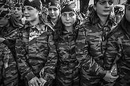 Parade for independence. Tskhinvali. 2005