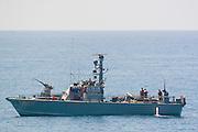 Dabur class, Israeli navy patrol boat out at sea