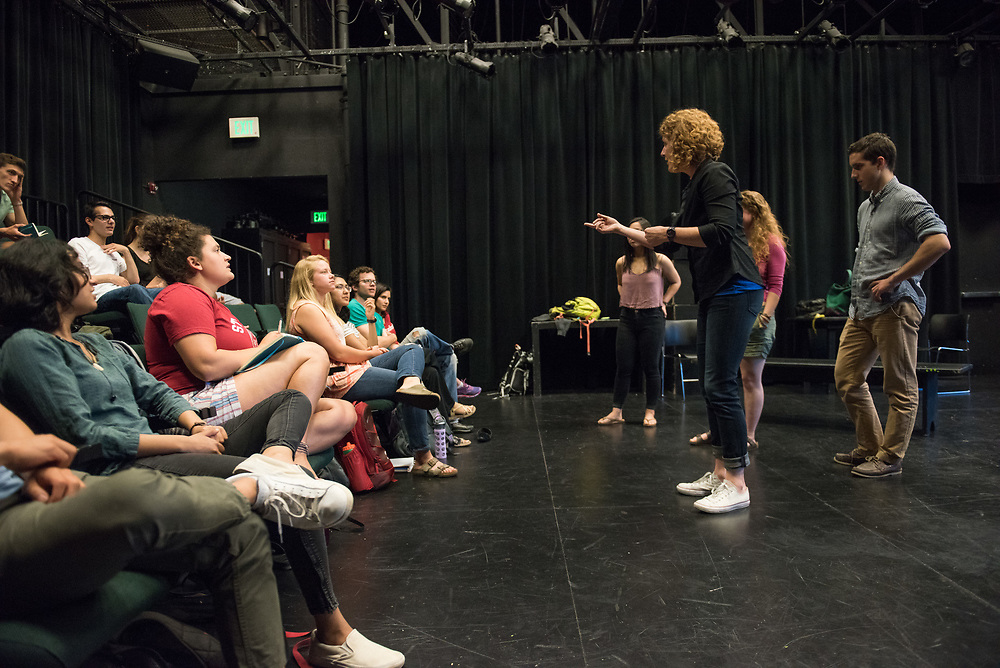 Stanford, Ca - Wednesday, May 31, 2017: Improv Class.