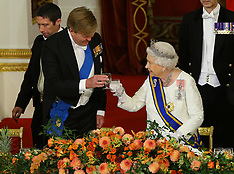 Banquet for The King and Queen of The Netherlands - 23 Oct 2018
