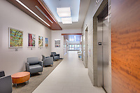 Interior design image of  MOB 4 at Inova Fair Oaks Hospital in Virginia by Jeffrey Sauers of Commercial Photographics, Architectural Photo Artistry in Washington DC, Virginia to Florida and PA to New England