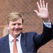 NLD/Utrecht/20190308  - Willem-Alexander geeft het startsein vd 'Week voor de Gezonde Jeugd', Koning Willem Alexander