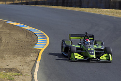 September 14, 2018 - Sonoma, California, United Stated - CHARLIE KIMBALL (23) of the United States takes to the track to practice for the Indycar Grand Prix of Sonoma at Sonoma Raceway in Sonoma, California. (Credit Image: © Justin R. Noe Asp Inc/ASP via ZUMA Wire)