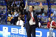 DESCRIZIONE : Desio Lega A 2013-14 EA7 Emporio Armani Milano Giorgio Tesi Pistoia<br /> GIOCATORE : Moretti Paolo<br /> CATEGORIA : Coach<br /> SQUADRA : Giorgio Tesi Pistoia<br /> EVENTO : Campionato Lega A 2013-2014<br /> GARA : EA7 Emporio Armani Milano Giorgio Tesi Pistoia<br /> DATA : 04/11/2013<br /> SPORT : Pallacanestro <br /> AUTORE : Agenzia Ciamillo-Castoria/M.Mancini<br /> Galleria : Lega Basket A 2013-2014  <br /> Fotonotizia : Desio Lega A 2013-14 EA7 Emporio Armani Milano Giorgio Tesi Pistoia<br /> Predefinita :