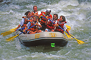 Whitewater rafting, Youghiogheny River, Ohiopyle State Park, Fayette Co., PA
