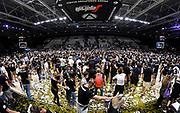 Invasione di Campo Tifosi<br /> Segafredo Virtus Bologna - A|X Armani Exchange Olimpia Milano<br /> Finale Playoff Scudetto Gara4<br /> LBA Legabasket Serie A UnipolSai 2020-2021<br /> Bologna, 11/06/2021<br /> Foto L.Canu / Ciamillo-Castoria