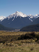 Dome Mountain, along the Waimakariri River, Arthur's Pass National Park, New Zealand