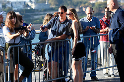 September 22, 2018 - San Sebastian, Baskenland, Spanien - Lily-Rose Depp beim Photocall zu 'A Faithful Man' auf dem 66. Internationalen Filmfestival San Sebastian / Festival Internacional de Cine de San Sebastián auf der Kursaal Terasse. San Sebastian, 22.09.2018 (Credit Image: © Future-Image via ZUMA Press)