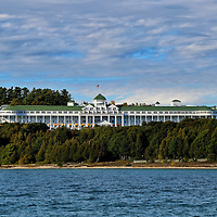 """""""Grand Hotel""""<br /> <br /> Scenic Grand Hotel on Mackinac Island, Michigan!!<br /> <br /> Architecture: Structures and buildings by Rachel Cohen"""