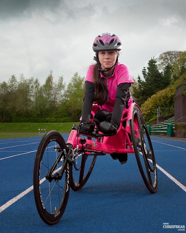 Shelby Watson, Wheelchair athlete