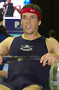 2004_British_Indoor_Rowing_Championships.NIA. Birmingham.England. 21.11.2004.BUSA Hwt race Barney Williams [OUBC] Canadian SIlver Medallist form the CAN M4-[Mandatory Credit Peter Spurrier/ Intersport Images]