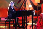 """Auftritt von Daniela Simmons bei der SRF-Pop-Schlager-Show """"Hello Again"""". Aufzeichnung vom 01. Oktober 2020 in den Fernsehstudios Zürich."""