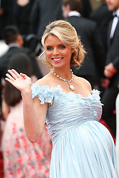 Miss France 2002 Sylvie Tellier attends the screening of Sorry Angel (Plaire, Aimer Et Courir Vite) during the 71st annual Cannes Film Festival at Palais des Festivals on May 10, 2018 in Cannes, France. Photo by Shootpix/ABACAPRESS.COM