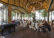 Cafe Kappeli in Helsinki, Finland. The Kappeli has been here since 1867.