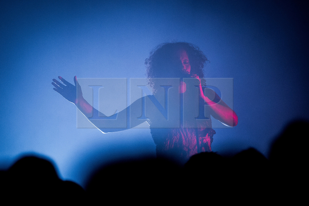 © Licensed to London News Pictures . 05/07/2013 . Manchester , UK . NENEH CHERRY performs at the Pavilion at the Manchester International Festival this evening (5th July 2013) . Photo credit : Joel Goodman/LNP