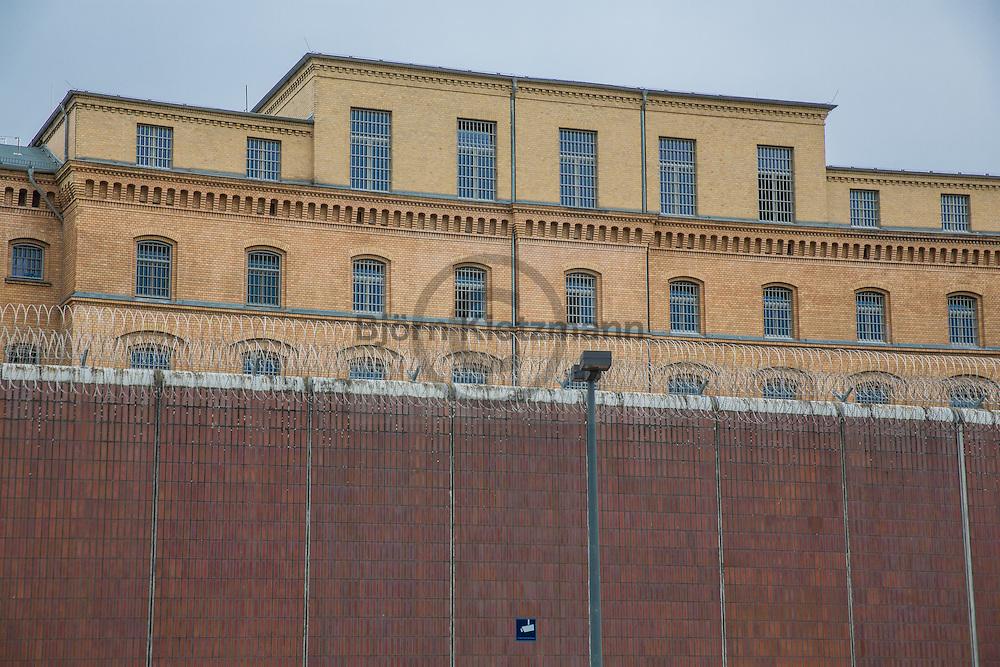 Berlin, Germany - 22.06.2015<br /> <br /> Prison Berlin-Moabit. The opened in the year 1881 jail house accommodate up to 971 prisoners.<br /> <br /> Justizvollzugsanstalt Berlin-Moabit. Die im Jahr 1881 in Betrieb genommene Haftanstalt ist bietet Platz fuer 971 Gefangene<br /> <br /> Photo: Bjoern Kietzmann