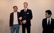 WILL KEMBLE-CLARKSON; PRINCE WILLIAM WAXWORK, 'Engagement' exhibition of work by Jennifer Rubell. Stephen Friedman Gallery. London. 7 February 2011. -DO NOT ARCHIVE-© Copyright Photograph by Dafydd Jones. 248 Clapham Rd. London SW9 0PZ. Tel 0207 820 0771. www.dafjones.com.