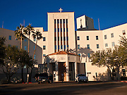 14 DECEMBER 2010 - PHOENIX, AZ: St. Joseph's Hospital in Phoenix, AZ. The hospital finds itself in the middle of a Catholic doctrine controversy because medical professionals at the hospital performed a life saving abortion for a woman. Now the Bishop in Phoenix is threatening to withhold Catholic accreditation for the hospital and excommunicate Catholic doctors and nurses who work there.  PHOTO BY JACK KURTZ