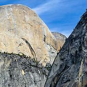 Half Dome, Mt Broderick and Liberty Cap, Yosemite National Park