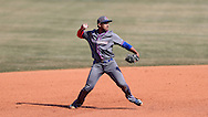 CARY, NC - MARCH 04: UMass Lowell's Oscar Marchena. The University of Massachusetts Lowell River Hawks played the University of Notre Dame Fighting Irish on March 4, 2017, at USA Baseball NTC Stadium Field in Cary, NC in a Division I College Baseball game, and part of the Irish Classic tournament. UMass Lowell won the game 8-0.