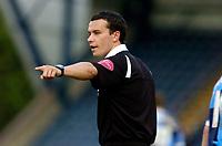 Photo: Alan Crowhurst.<br />Wycombe Wanderers v Darlington. Coca Cola League 2. 29/04/2006. Referee D Whitestone.