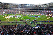A general view during the Six Nations international rugby union match between England and Ireland at Twickenham stadium, Sunday, Feb. 23, 2020, in London, United Kingdom.  England won the match 24-12. (Mitchell Gunn/ESPA-Images-Image of Sport)