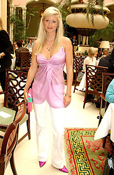 Jeweller PHILIPPA HOLLAND at a fashion show of Sybil Stanislaus Summer 2005 collection with jewellery by Philippa Holland held at The Lanesborough Hotel, Hyde Park Corner, London on 13th April 2005.<br /><br />NON EXCLUSIVE - WORLD RIGHTS