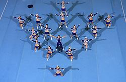 Wild Spirit Allstars, UK during Mixed senior at second day of European Cheerleading Championship 2008, on July 6, 2008, in Arena Tivoli, Ljubljana, Slovenia. (Photo by Vid Ponikvar / Sportal Images).