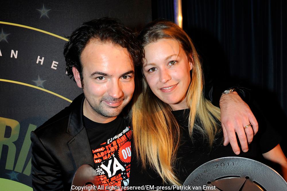 AVRO Radiogala 2011 in het Stadhuis van Hilversum.<br /> <br /> Op de foto:  Annemieke Schollaerd en Gerard Ekdom
